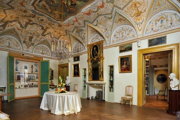interno della casa museo