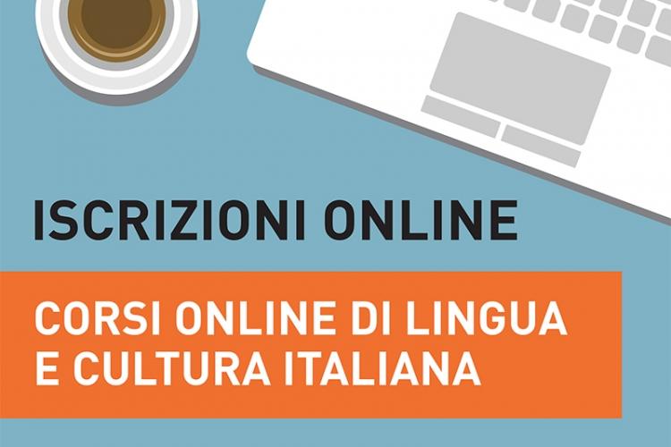 Iscrizioni online ai corsi di lingua e cultura italiana