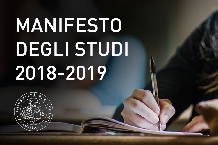 Manifesto degli studi