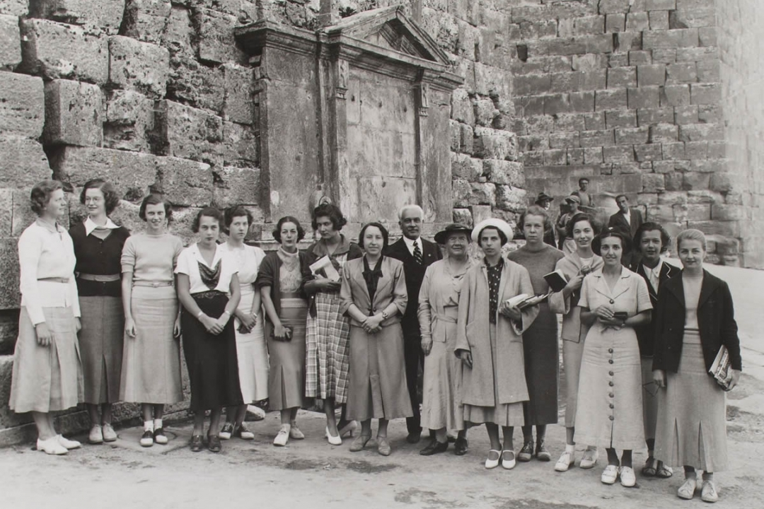 foto d'archivio degli ex alunni