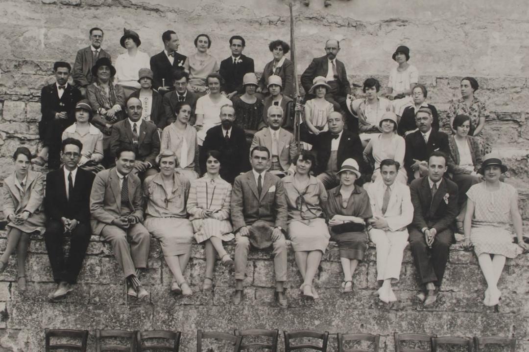 21 agosto 1927 - Studenti in visita ad Orvieto