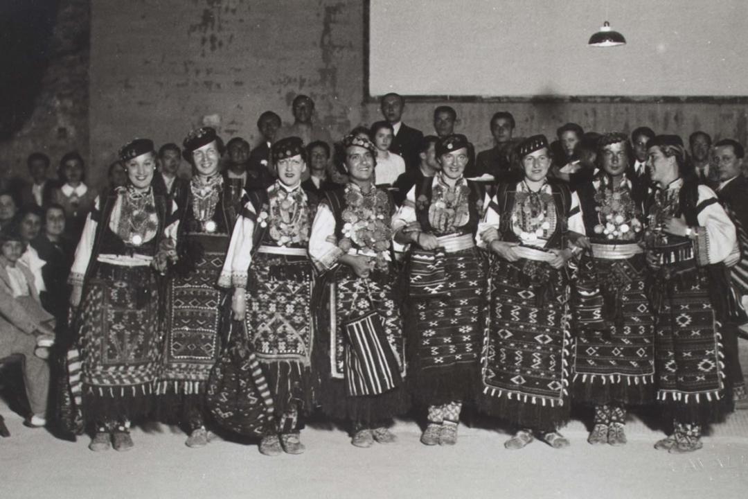 5 settembre 1936 - Le insegnanti di Zara in visita all'Università