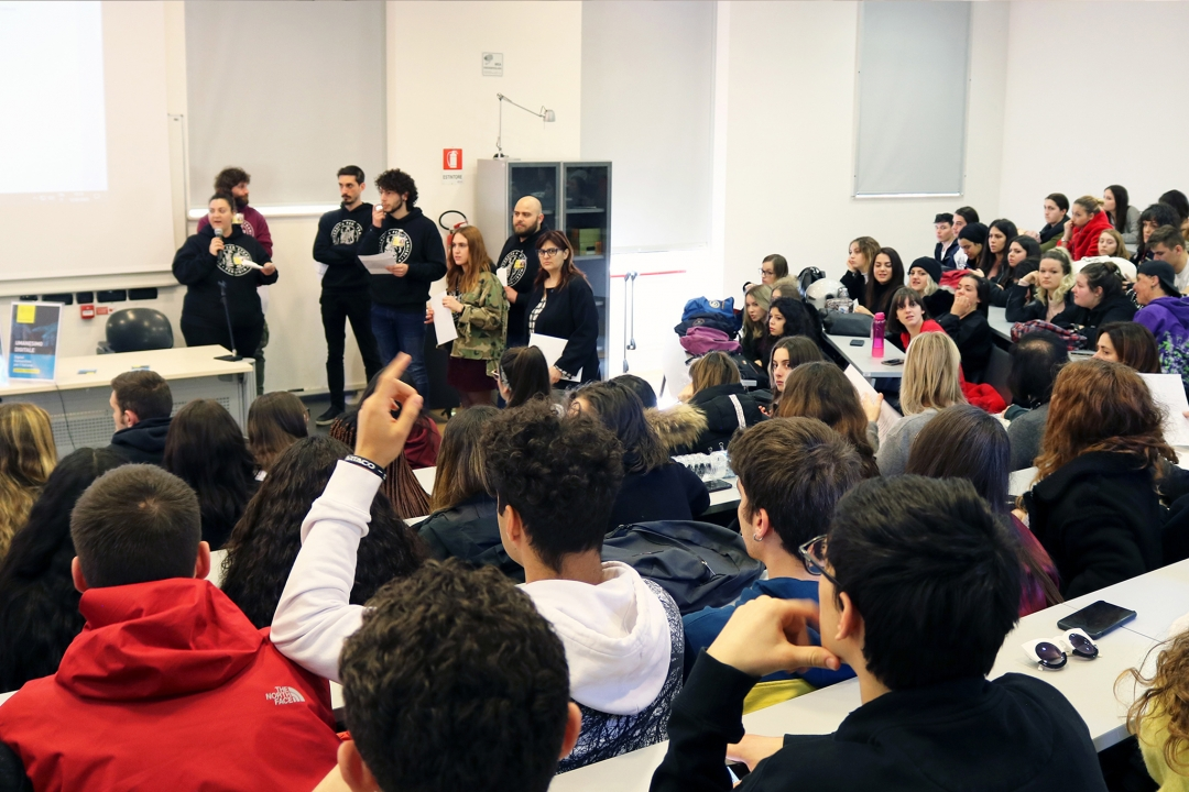 intervento dei rappresentanti degli studenti