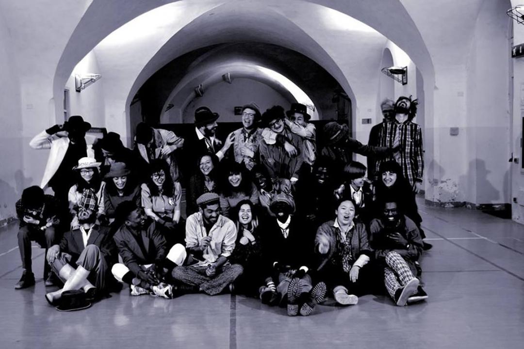 foto di gruppo del laboratorio