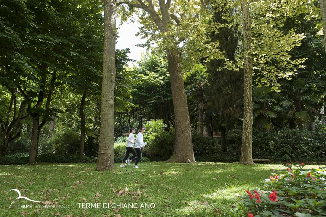parco delle Terme di Chianciano