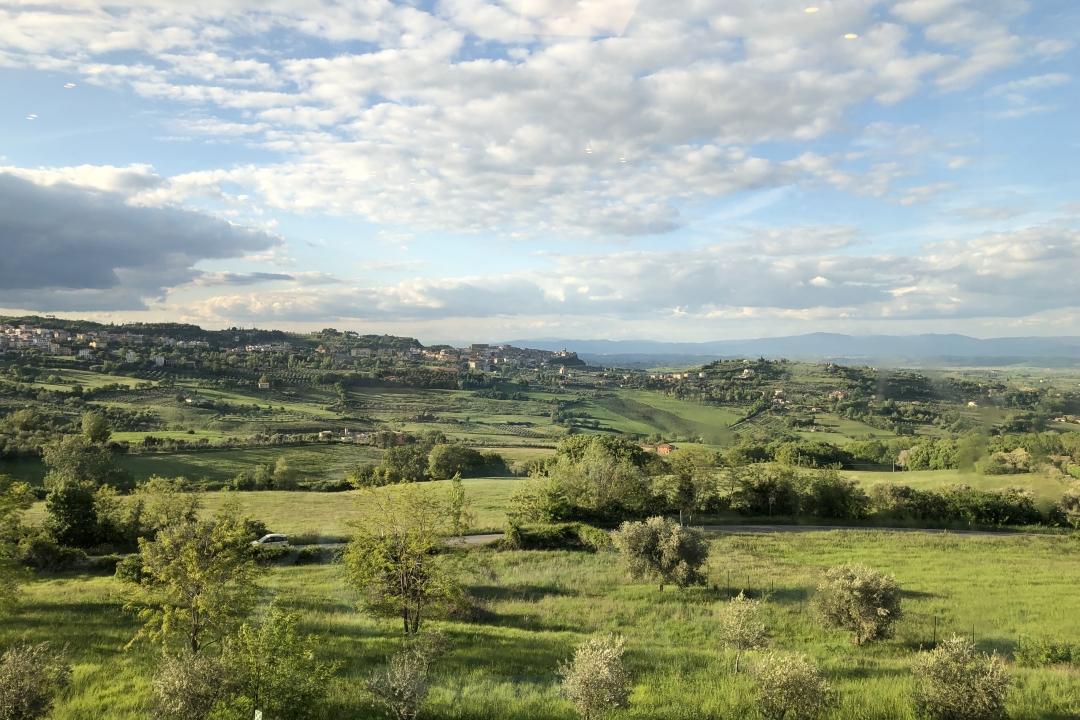 panoramica di Chianciano