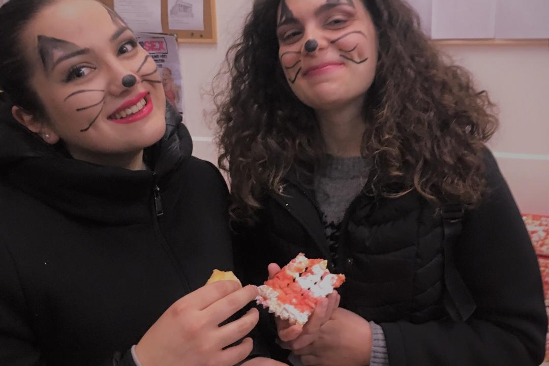 studenti alla festa