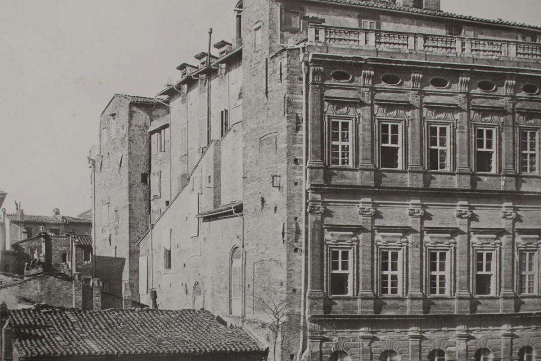 Palazzo Gallenga prima dell'ampliamento
